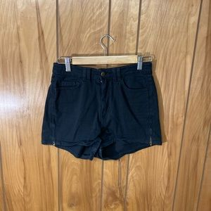 High-waisted American Apparel Shorts
